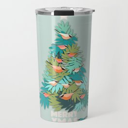 Tropical Xmas Travel Mug