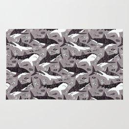 Sharks On Grey Rug