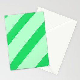 Leaf Stripes Stationery Cards