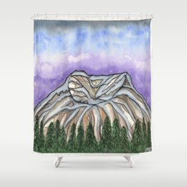 Mt. St. Helens Shower Curtain