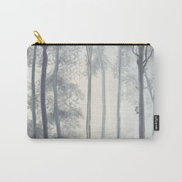 Frozen Fog in the Forest Carry-All Pouch