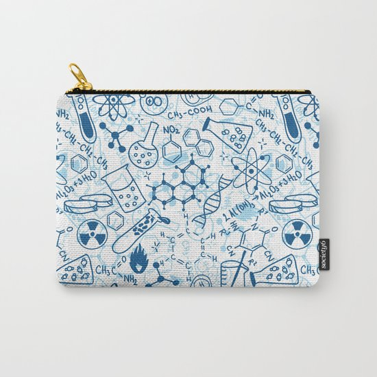 School chemical pattern #2 Carry-All Pouch