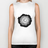 tree rings Biker Tanks featuring Tree Rings by vogel