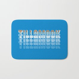 Seasons K Designs Tillamook Sunset Fade Bath Mat