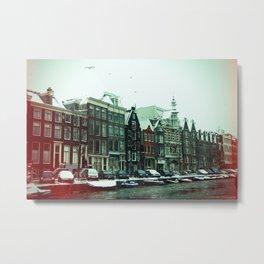 Amsterdam Film Metal Print