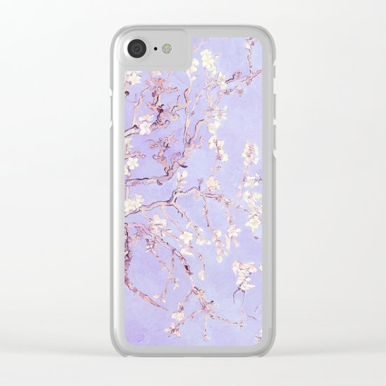 Vincent Van Gogh : Almond Blossoms  Panel Art Clear iPhone Case