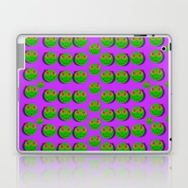 The happy eyes of freedom in polka dot cartoon pop art Laptop & iPad Skin