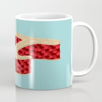 pie Mugs featuring Pi Pie by Rryan