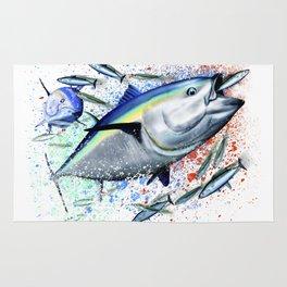 Bluefin Blitz - Bluefin Tuna Rug