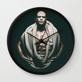 """""""Avatar"""" (grainy finish) Wall Clock"""