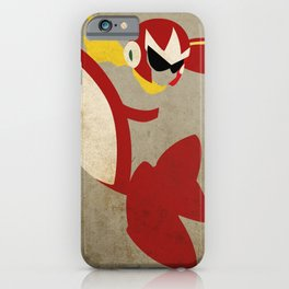 Protoman iPhone Case