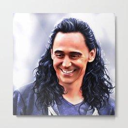 Loki - Ragnarok II Metal Print