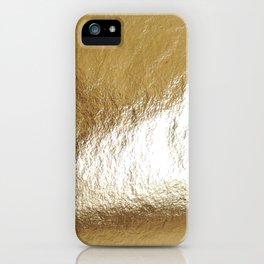 Gold Foil iPhone Case