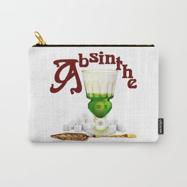 """""""Absinthe Makith The Heart Grow Fonder!"""" #1 Carry-All Pouch"""