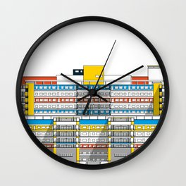 Hospital Universitario de Caracas HUC Wall Clock