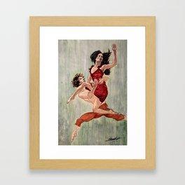 Dance of Love Framed Art Print