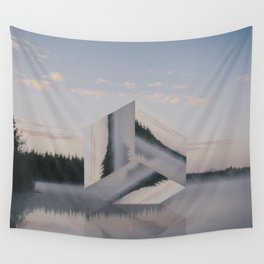 Sinking. Wall Tapestry