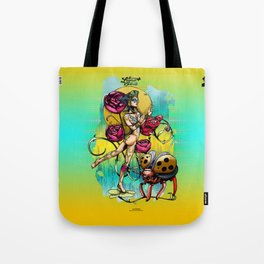 Madame Ladybotté Butterfly of Lovers' Vale Tote Bag