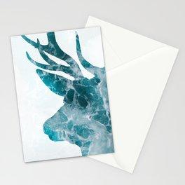 Ocean Deer Stationery Cards
