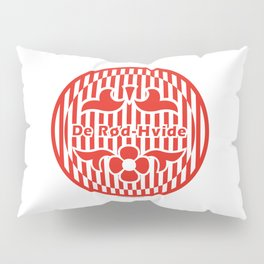 Denmark De Rød-Hvide (The Red-White) ~Group C~ Pillow Sham