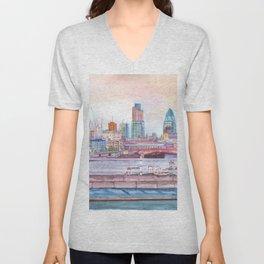 Colorful London Unisex V-Neck