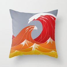 Beaufort Scale Throw Pillow