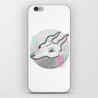 glitch iPhone & iPod Skins featuring Glitch by Sonia Lazo