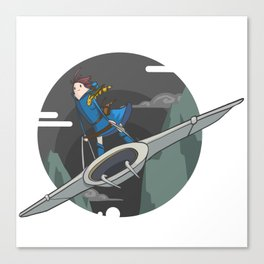 Nausicaa (of the valley of the wind) Canvas Print