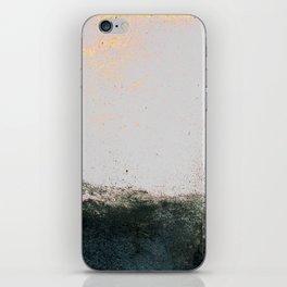 abstract smoke wall painting iPhone Skin