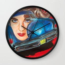 Lincoln Continental & Liz Taylor Wall Clock