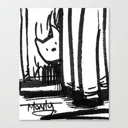 Hidden Kitty Canvas Print