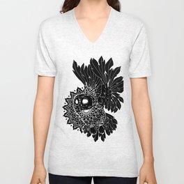 Space Owl Unisex V-Neck