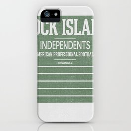 Rock Island Independents iPhone Case