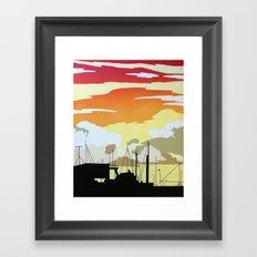 Penzance Harbour Framed Art Print