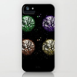 Tree Planets iPhone Case