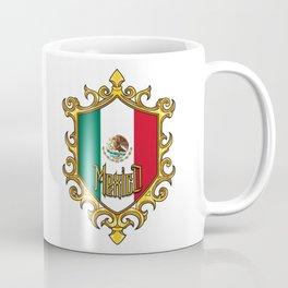 Mexico Flag - Mexican Emblem - Hecho En Mexico Coffee Mug