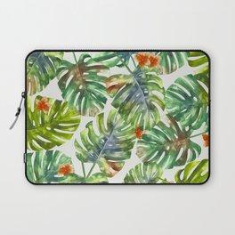 Palm Leaves Pattern 1 Laptop Sleeve