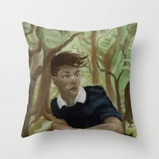 A Forest Throw Pillow