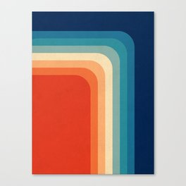 Retro 70s Color Palette III Leinwanddruck