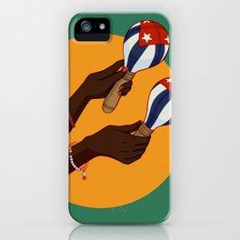Cuban Maracas iPhone Case
