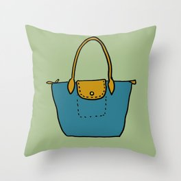 Satchel, 1 Throw Pillow