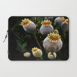 Poppy Seed Pod  Laptop Sleeve