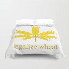 Legalize Wheat Duvet Cover