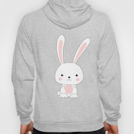 Bunny with Middle Fingers Hoody