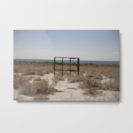The Salton Sea Metal Print