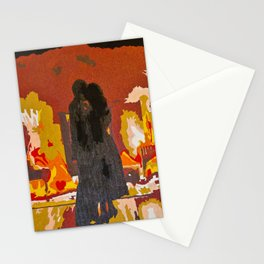 Slow Dancing in a Burning Room - John Mayer Stationery Cards