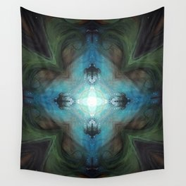 Sea Turtle Moon Wall Tapestry
