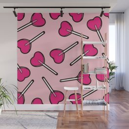 Lollipop Love Wall Mural