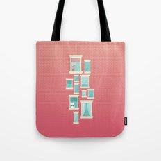 Bricks & Windows Tote Bag