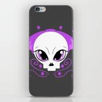 pastel goth iPhone & iPod Skins featuring Starstruck Pastel Goth by JadedZombieInk